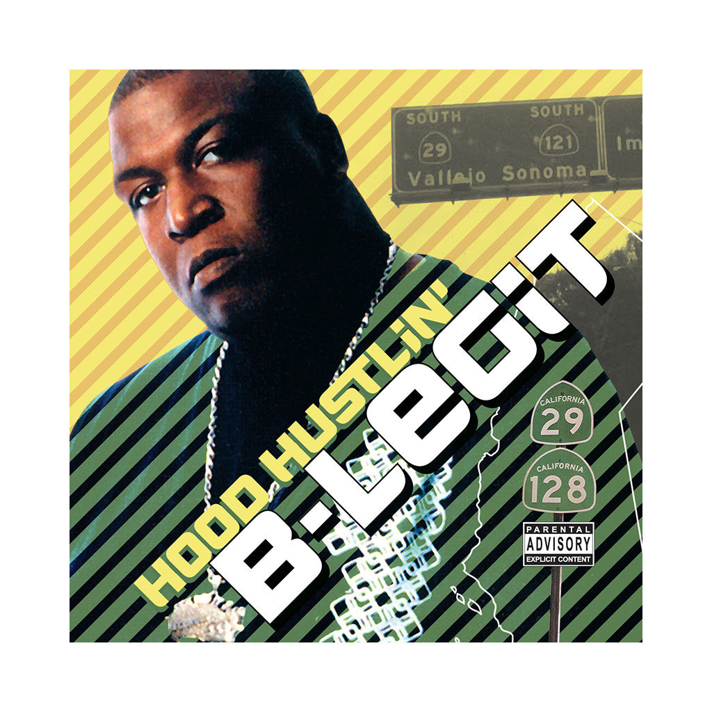 <!--020061010004466-->B-Legit - 'Hood Hustlin'' [CD]