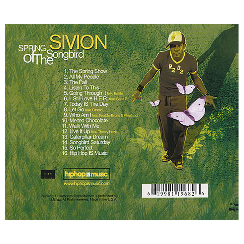 Sivion - 'Spring Of The Songbird' [CD]