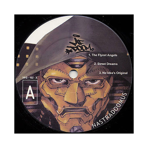 M.F. DOOM (Remixing: Nas) - 'Nastradoomus Vol. 1 & 2' [(Black) Vinyl [2LP]]