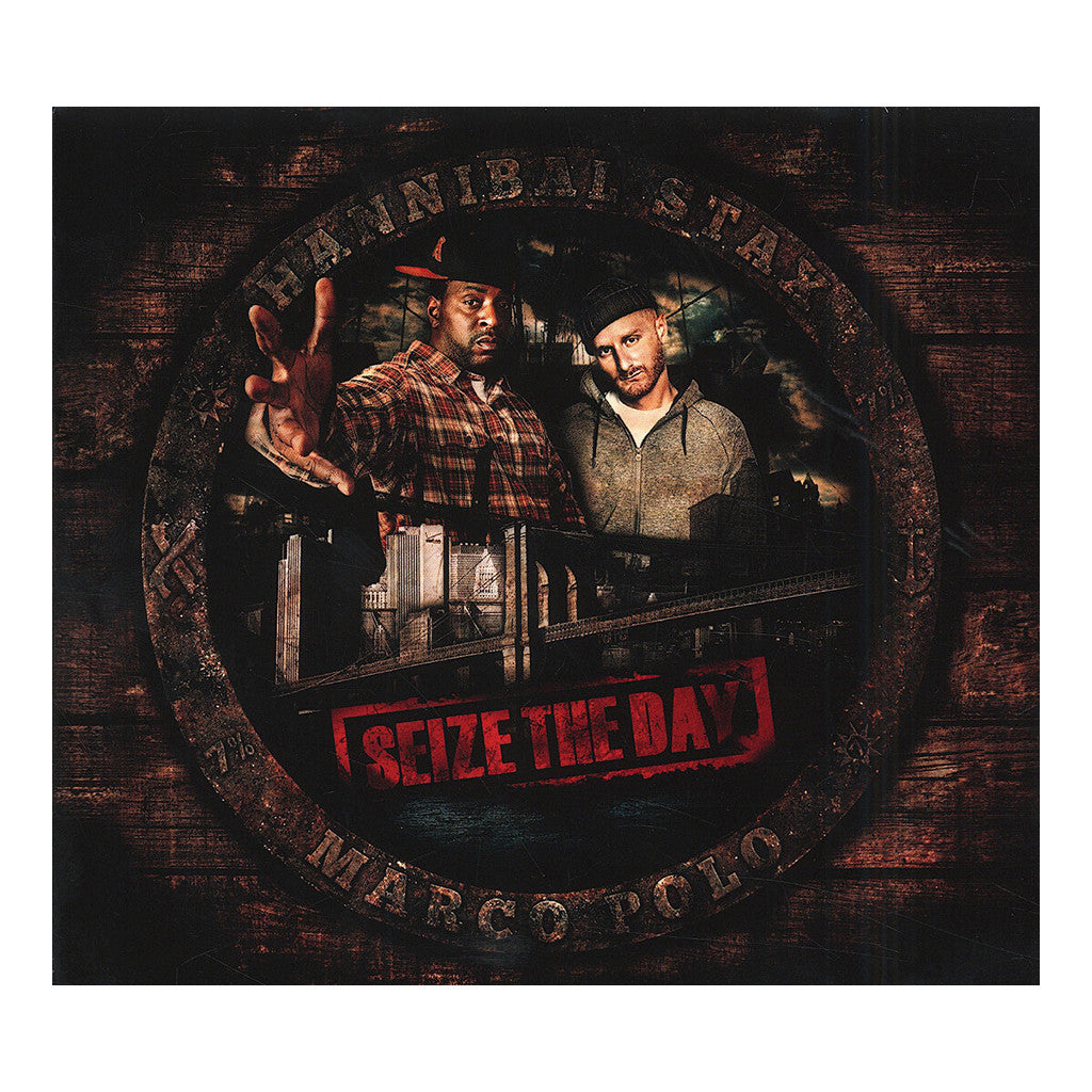 Hannibal Stax & Marco Polo - 'Seize The Day' [CD]