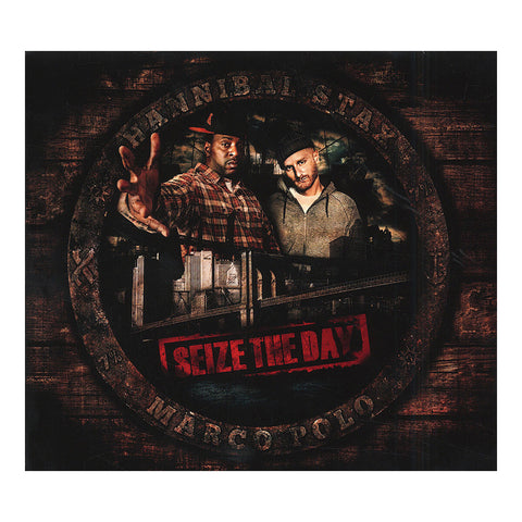 "[""Hannibal Stax & Marco Polo - 'Seize The Day' [CD]""]"