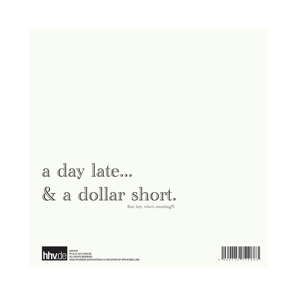 Sene & Blu - 'A Day Late & A Dollar Short' [(Black) Vinyl [2LP]]