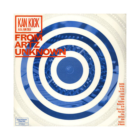 Kankick - 'From Artz Unknown (Regular 2LP Edition)' [(Black) Vinyl [2LP]]