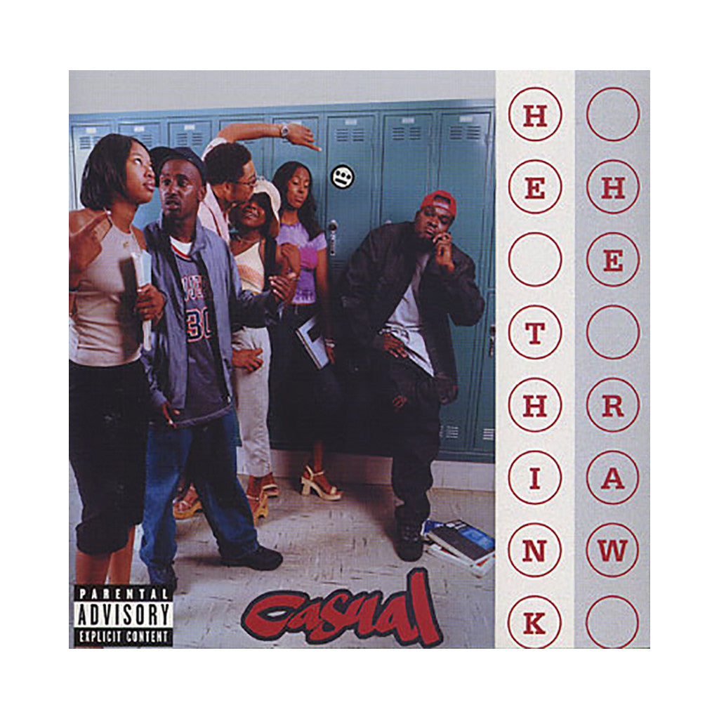 <!--120010925017779-->Casual - 'He Think He Raw' [CD]