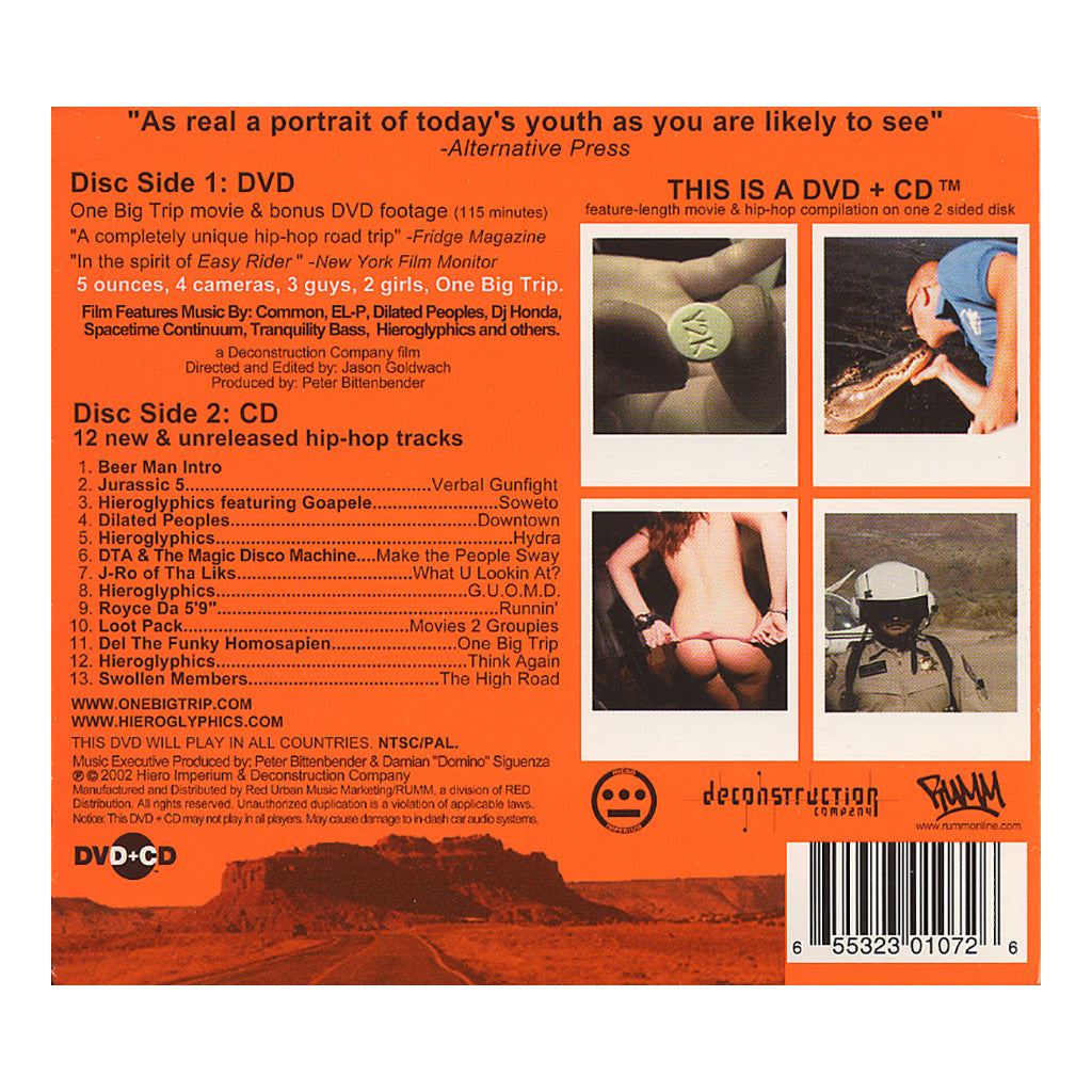 <!--120020827000424-->Various Artists - 'One Big Trip' [CD]
