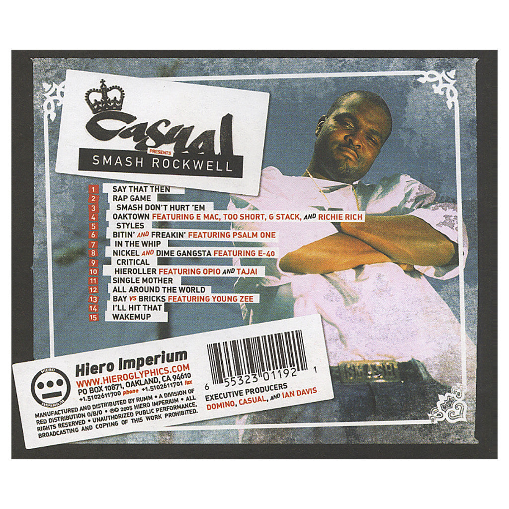 <!--120050913005784-->Casual - 'Smash Rockwell' [CD]