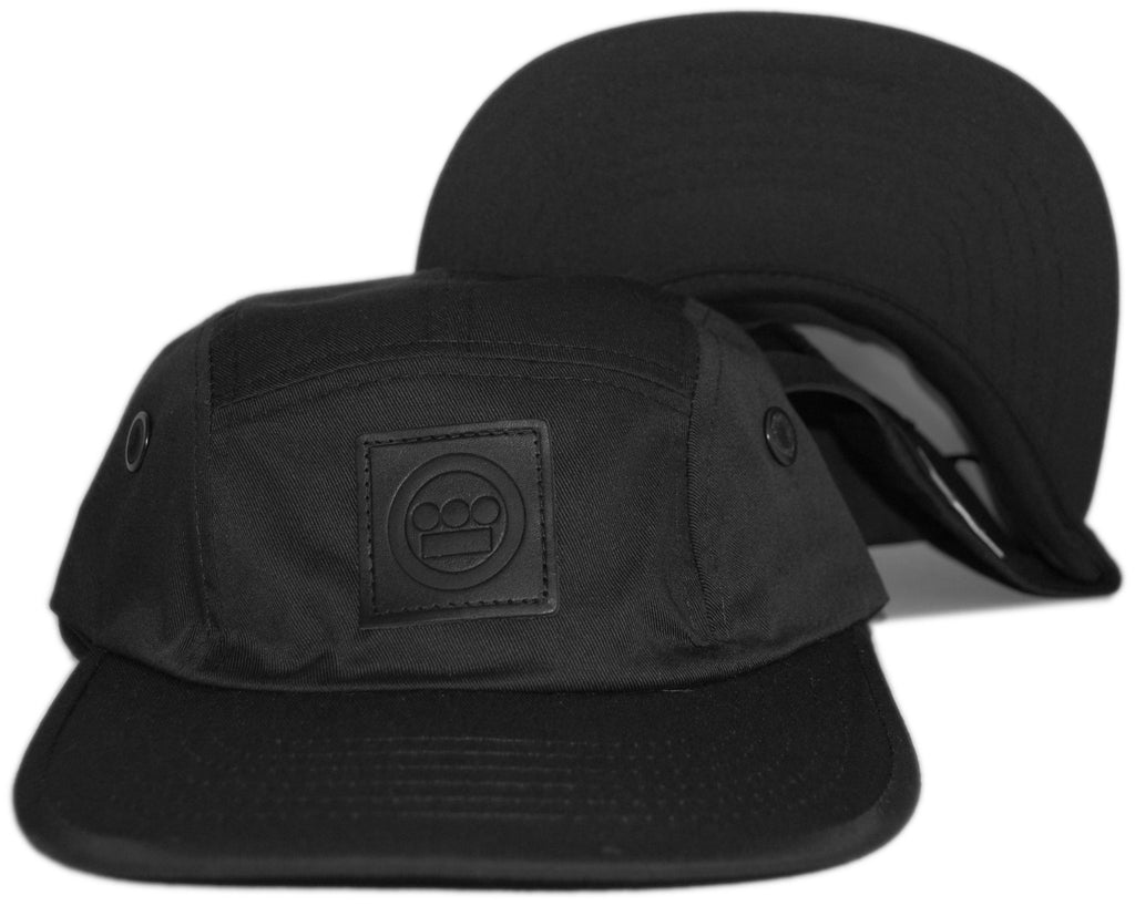 <!--020130312054668-->Hieroglyphics - 'Logo' [(Black) Five Panel Camper Hat]