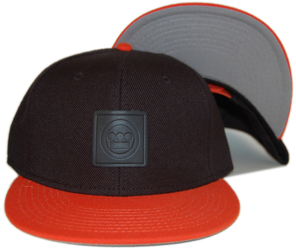 <!--020130312054665-->Hieroglyphics - 'Logo - Orange' [(Black) Snap Back Hat]