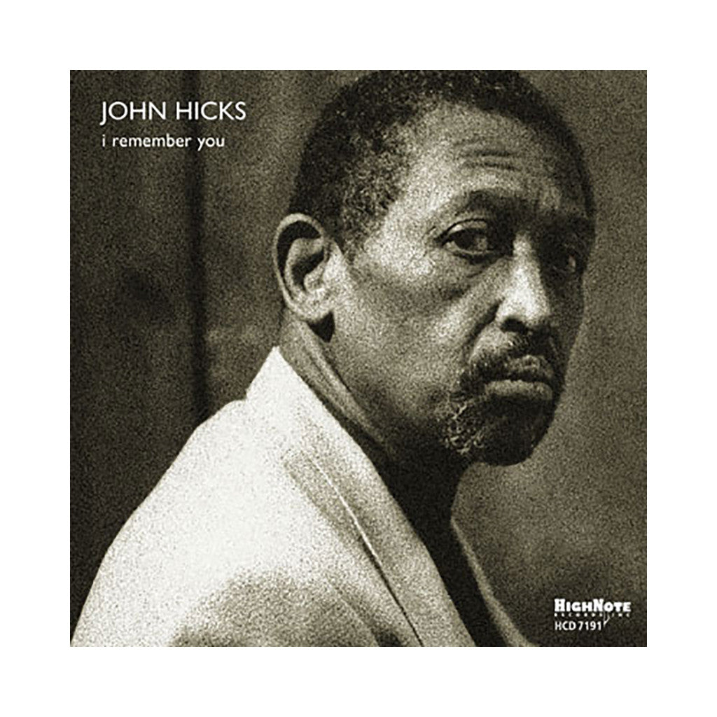 <!--120090728017553-->John Hicks - 'I Remember You' [CD]