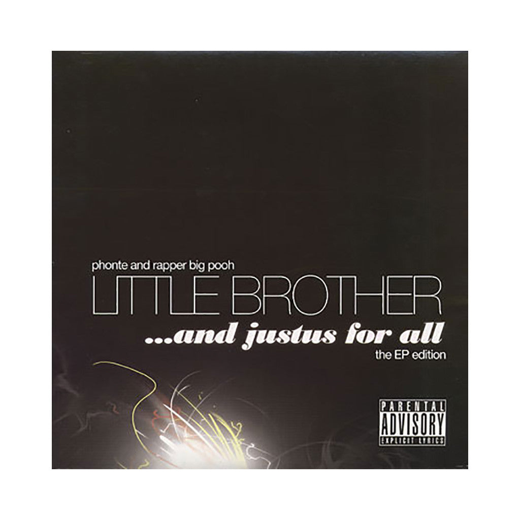 <!--020080930014301-->Little Brother - 'And Justus For All: The EP Edition' [(Black) Vinyl EP]