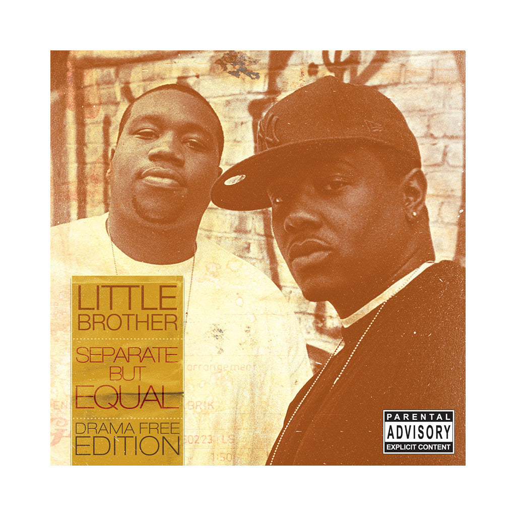 <!--120081104015112-->Little Brother - 'Separate But Equal (Drama Free Edition)' [CD]