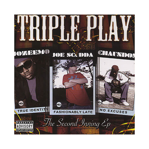 Triple Play - 'The Second Inning EP' [CD]