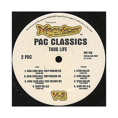 "<!--020081111015421-->2Pac - 'How Long Will They Mourn Me/ Bury Me A G/ Str8 Ballin (Pac Classics Vol. 2: Thug Life)' [(Black) 12"" Vinyl Single]"