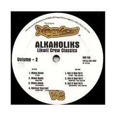 "<!--020080527013866-->Tha Alkaholiks - 'Make Room/ Relieve Yourself/ Got It Bad Ya'll (Likwit Crew Classics Vol. 2)' [(Black) 12"" Vinyl Single]"