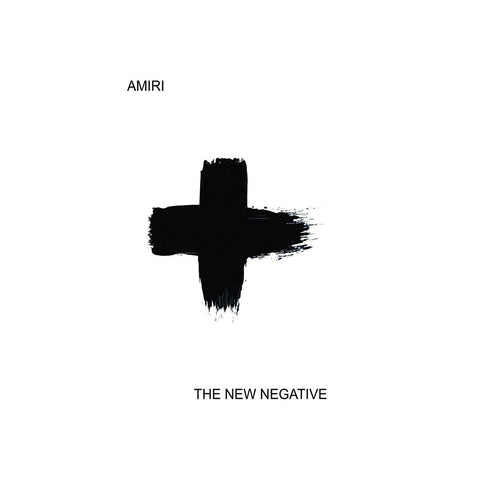 Amiri - 'The New Negative' [(Clear) Cassette Tape]