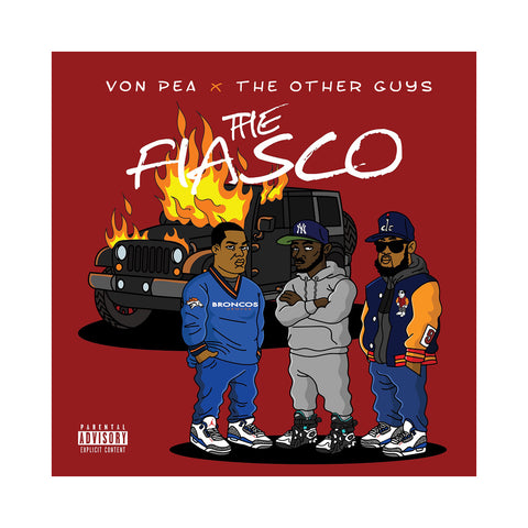 "[""Von Pea & The Other Guys - 'The Fiasco' [(Black) Vinyl LP]""]"