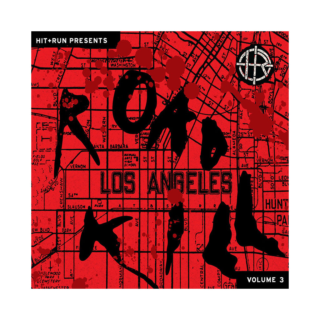 Hit+Run Presents - 'Road Kill Vol. 3' [(Red w/ Black Haze) Vinyl LP]