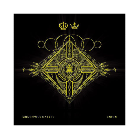 "[""Mono/Poly x Aylss - 'Union' [(Metallic Gold & Black) Vinyl EP]""]"
