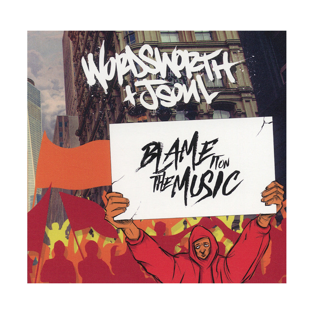Wordsworth & JSOUL - 'Blame It On The Music' [CD]