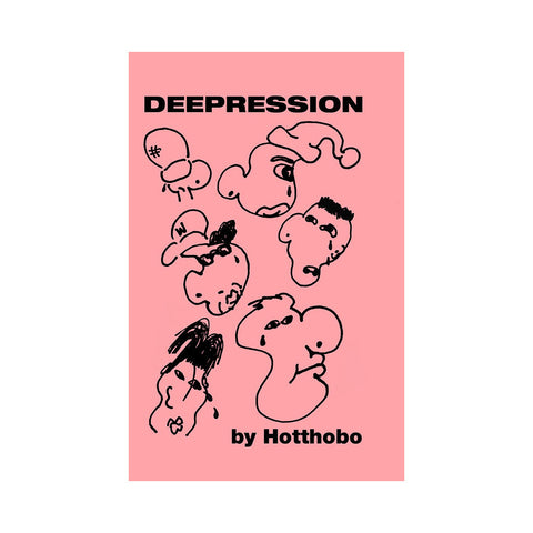 Hotthobo - 'Deepression' [Cassette Tape]