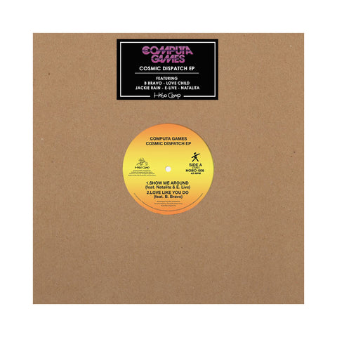 Computa Games - 'The Cosmic Dispatch EP' [(Black) Vinyl EP]