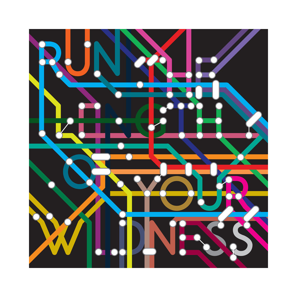 Various Artists - 'Run The Length Of Your Wildness' [(Black) Vinyl EP]