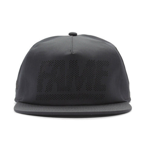 Hall Of Fame - 'Fame Block Perf' [(Black) Snap Back Hat]