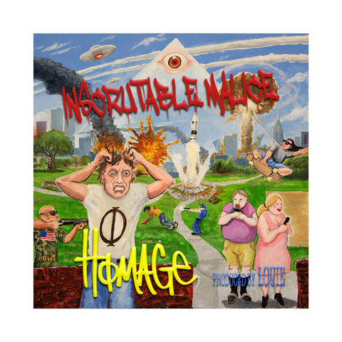 "[""Homage - 'Inscrutable Malice' [CD]""]"