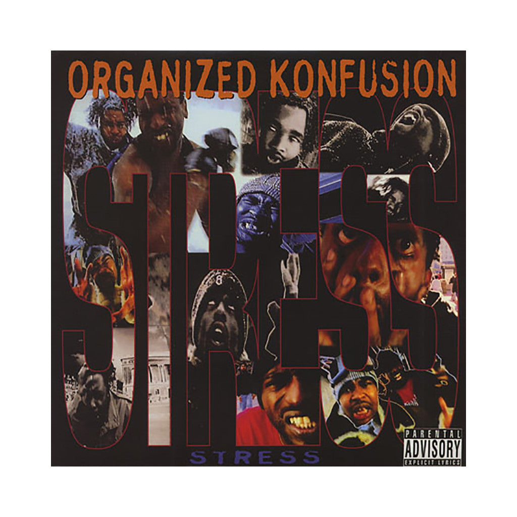 "<!--019940101011760-->Organized Konfusion - 'Stress/ Stress (Remix)/ Keep It Koming' [(Black) 12"" Vinyl Single]"