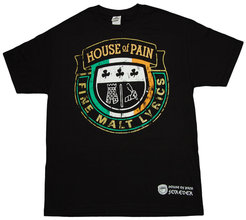 <!--2010062240-->House Of Pain - 'Crest' [(Black) T-Shirt]