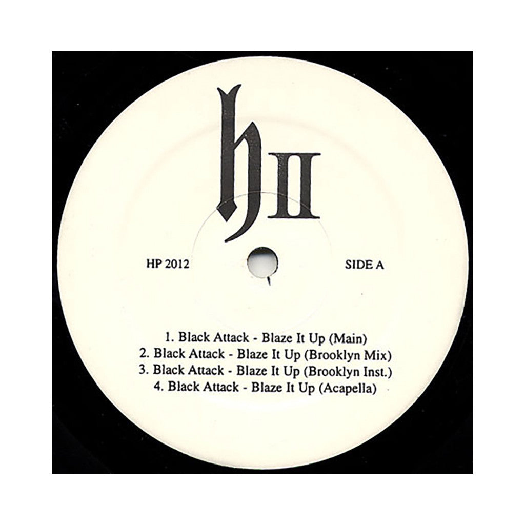 "DJ Honda - 'Blaze It Up/ 5 Seconds' [(Black) 12"" Vinyl Single]"