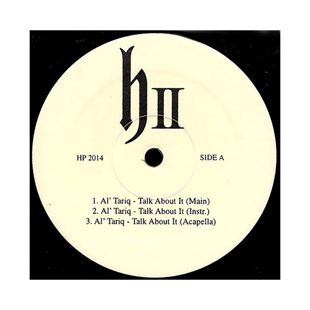 "<!--019980324013933-->DJ Honda - 'Talk About It/ Team Players' [(Black) 12"" Vinyl Single]"