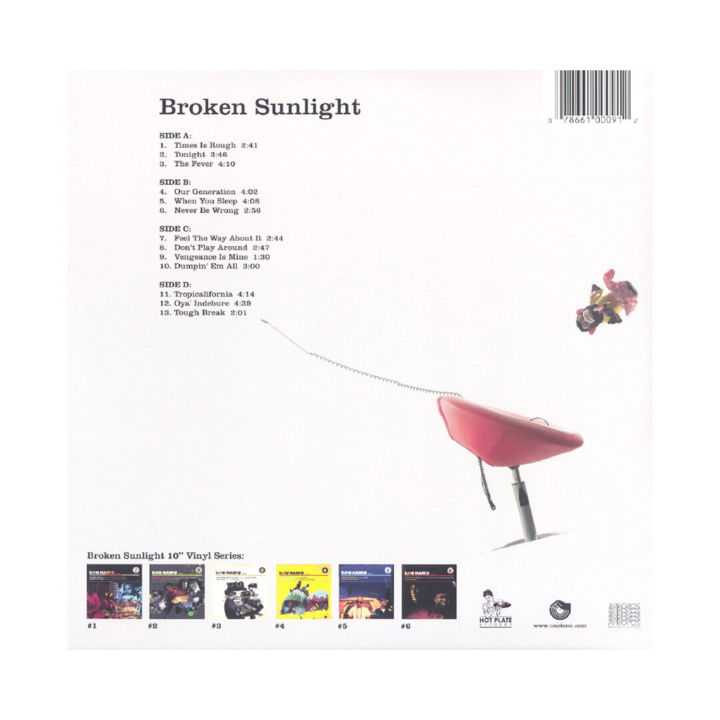 <!--120121211051851-->DJ Nu-Mark - 'Broken Sunlight' [(Black) Vinyl [2LP]]