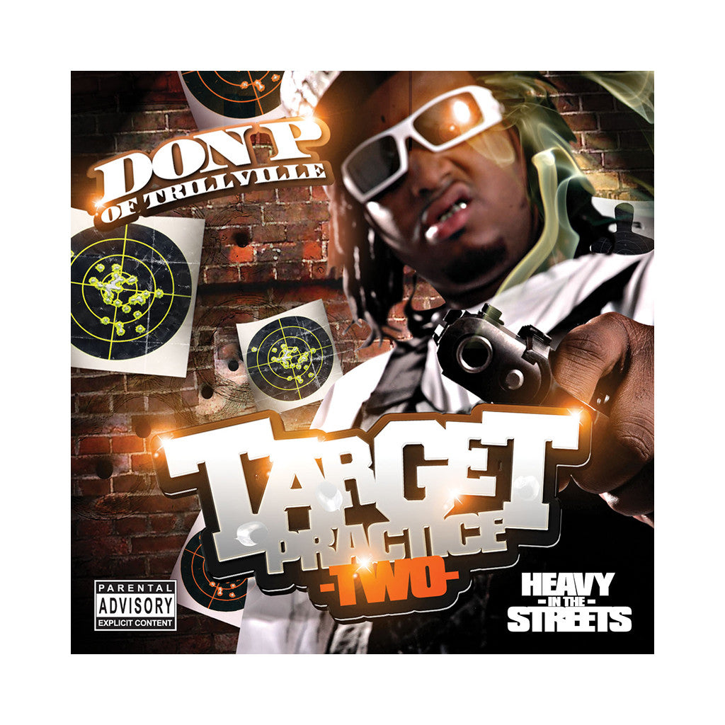 Don P - 'Target Practice Two' [CD]