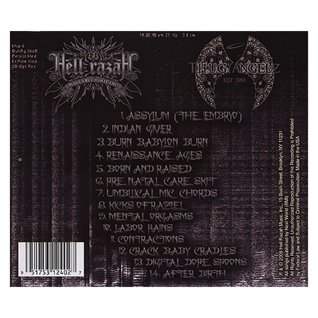 <!--120080923014780-->Hell Razah - 'Ultra Sounds Of A Renaissance Child' [CD]