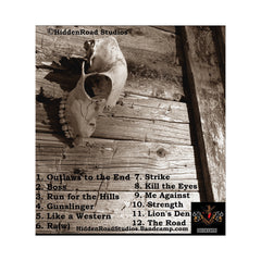 HiddenRoad - 'Outlaws To The End' [CD]