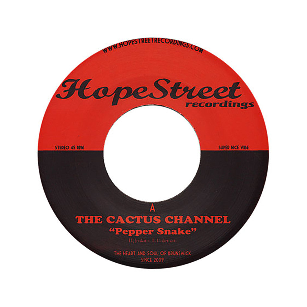 "The Cactus Channel - 'Pepper Snake/ The Dap' [(Black) 7"" Vinyl Single]"