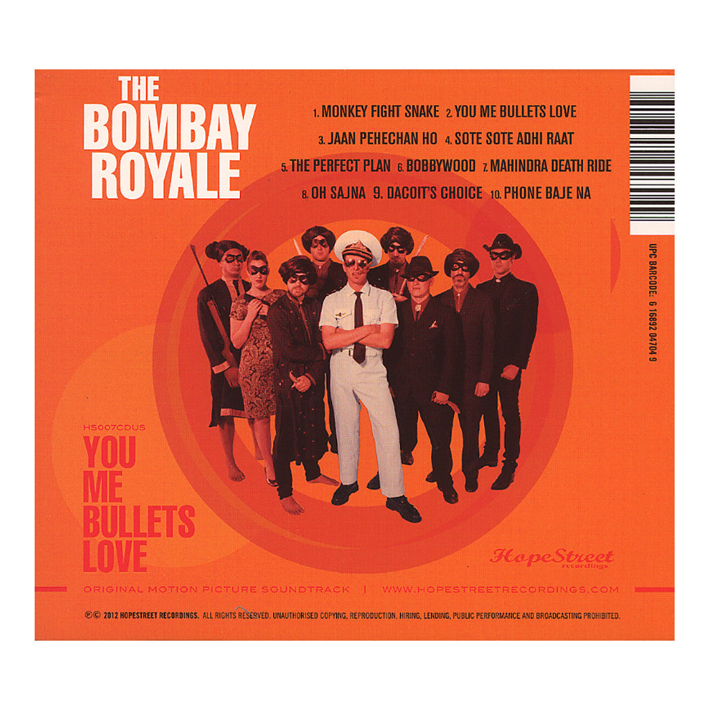 <!--2012051500-->The Bombay Royale - 'You Me Bullets Love' [CD]