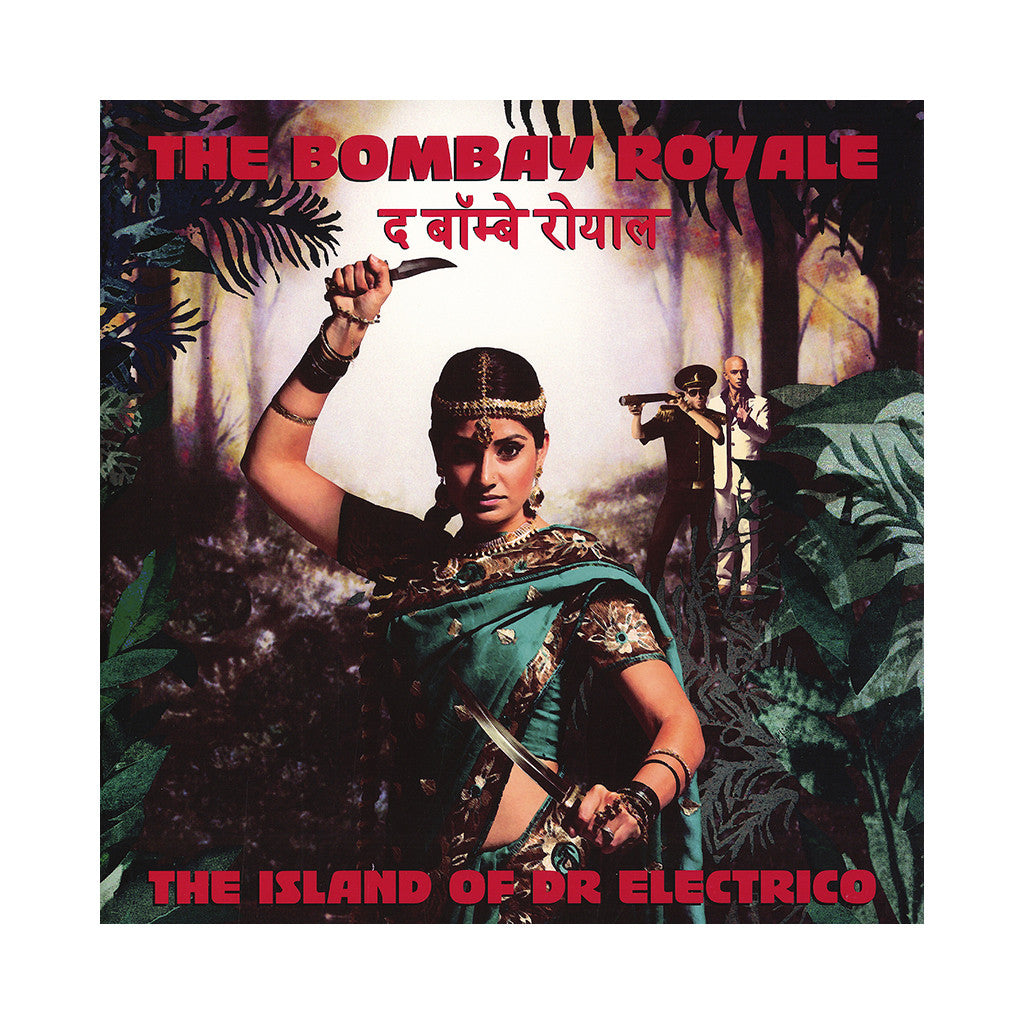 <!--020140708063976-->The Bombay Royale - 'The Island of Dr. Electro' [(Green) Vinyl LP]