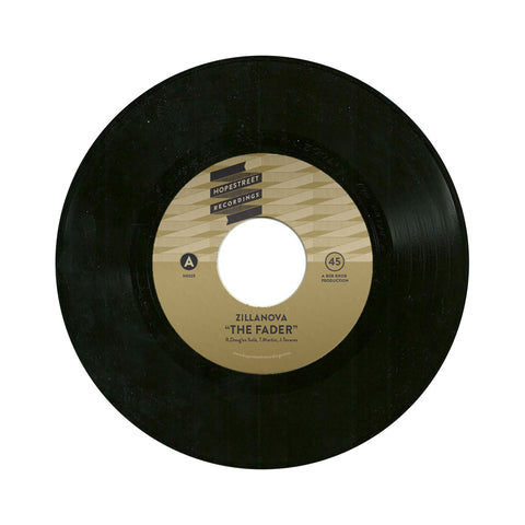 "Zillanova - 'The Fader/ The Glasgow Coma Scale/ Let's Break Up Again' [(Black) 7"""" Vinyl Single]"