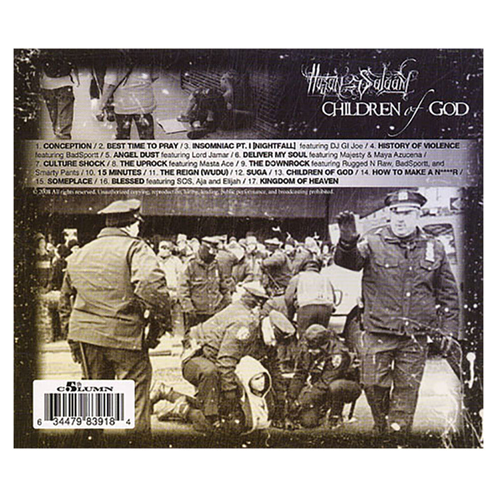 <!--2008101417-->Hasan Salaam - 'Children Of God' [CD]