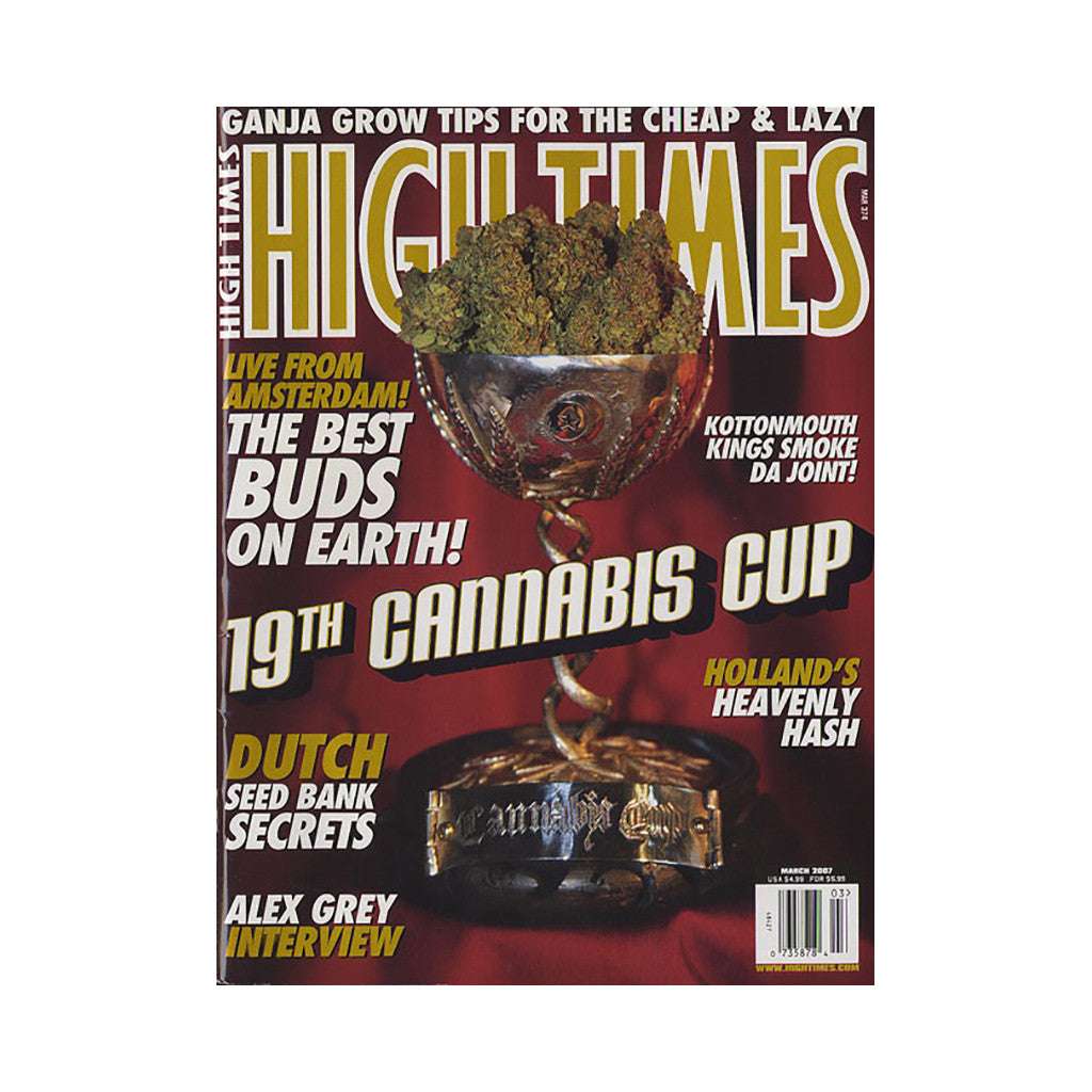 <!--020070206009112-->High Times - 'Issue 374, March 2007' [Magazine]