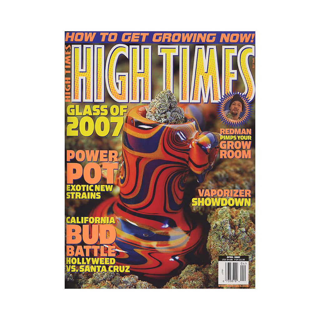 <!--020070220003148-->High Times - 'Issue 375, April 2007' [Magazine]