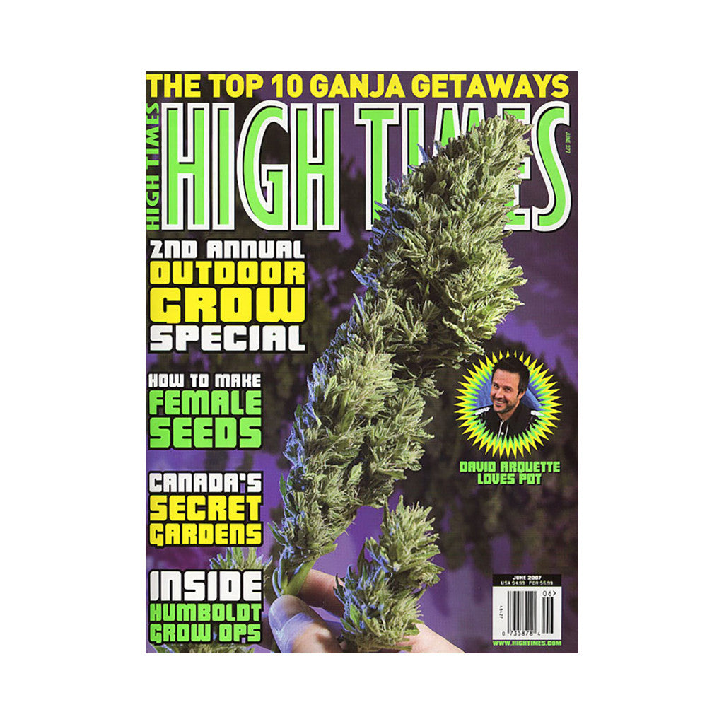<!--020070417009465-->High Times - 'Issue 377, June 2007' [Magazine]