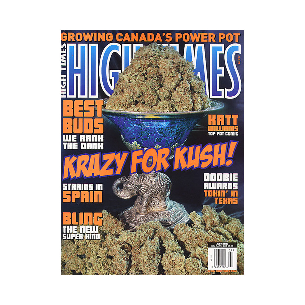 <!--020070605009917-->High Times - 'Issue 378, July 2007' [Magazine]