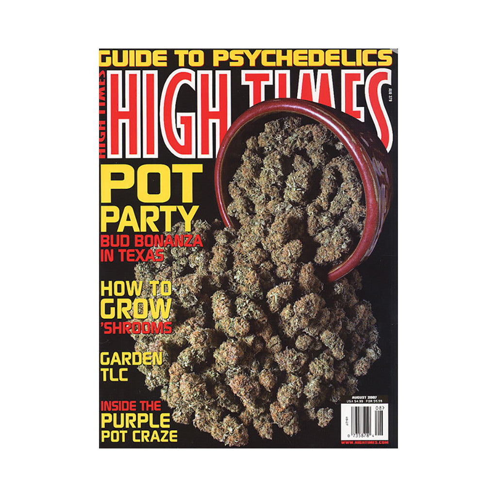 <!--020070717010182-->High Times - 'Issue 379, August 2007' [Magazine]