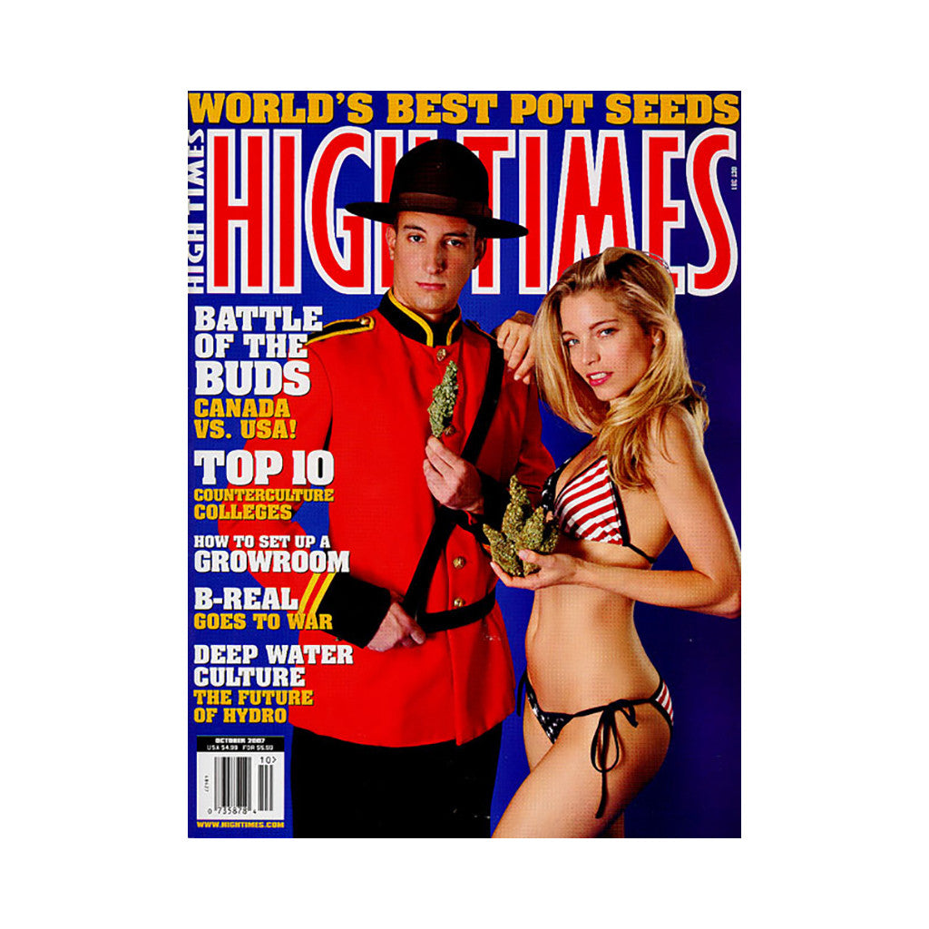 <!--020070904003145-->High Times - 'Issue 381, October 2007' [Magazine]