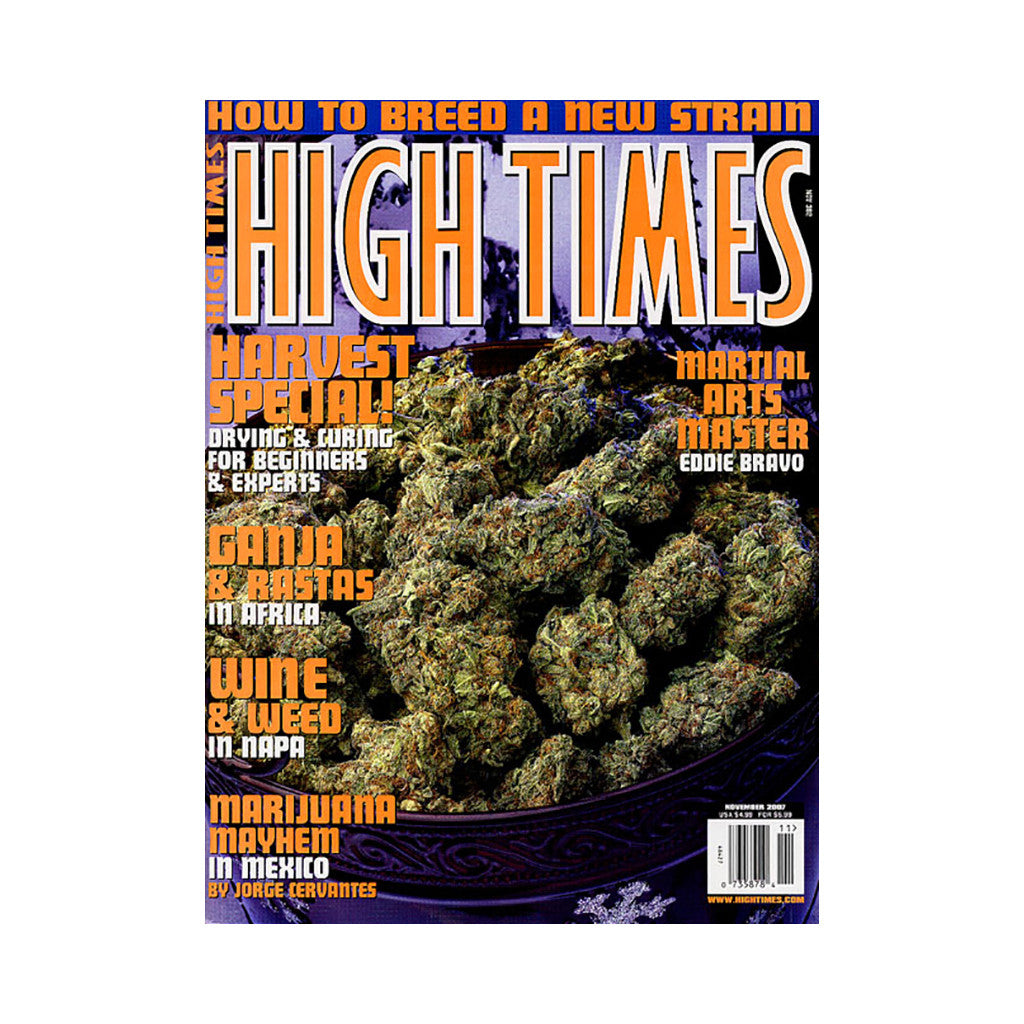 <!--020071002010738-->High Times - 'Issue 382, November 2007' [Magazine]