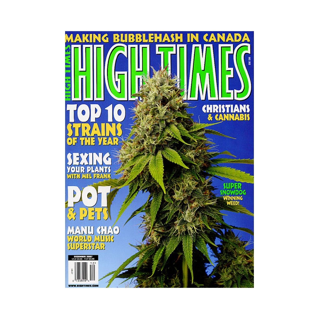 <!--020071106011076-->High Times - 'Issue 383, December 2007' [Magazine]