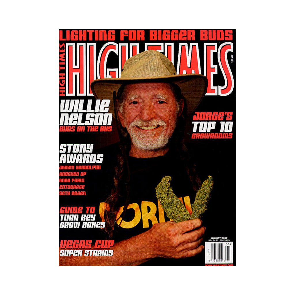 <!--020071127011259-->High Times - 'Issue 384, January 2008' [Magazine]